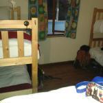 Quarto coletivo misto - seis camas