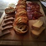 meat/cheese plate