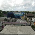 East rooftop view.