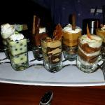 Assortment of desserts....