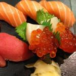 decadent sushi!