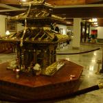 A temple (?) in the hotel