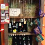 Local jewelry and crafts for sale