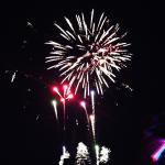 fireworks from Light up day