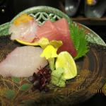 sushi at dinner