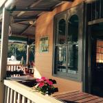 Verandah at Cottage Point Kiosk