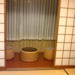 tea room @ Kinoe ryokan