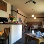 Rezeption & Frühstückssaal