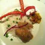 Chicken Korma &  peas pilau ��