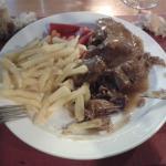El segundo plato del menú...riquísimoooo