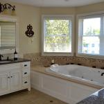 grandview double jacuzzi bathroom, jetted shower heated floor