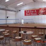 10,000 sq foot pole barn for year round sand volleyball. 2 courts, a full bar, 13 large HD TV's