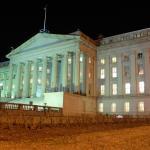 Fachada do prédio do Tesouro Americano