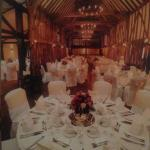 Essex barn all dressed- sorry about quality