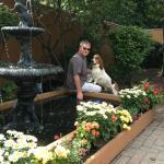 The beer garden is dog friendly too!