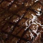 Top quality chargrilled steak