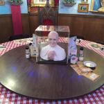 The pope room.