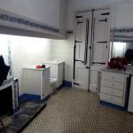 Antigua cocina, ahora cuarto de baño