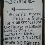 """""""alla maniera siciliana"""""""