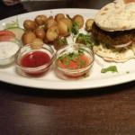 Superb Indian burger