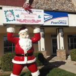 Santa Claus Post Office Foto