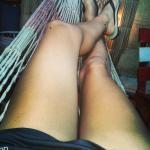descansando en la hamaca