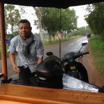 Tuk Tuk driver.. Mr Samreta..