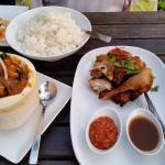 Masaman Duck and Chicken
