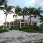 Condo view from beach