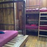 Double adult size bunk beds with comfortable mattress