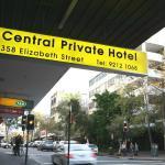 Front in Elizabeth Street opposite Sydney Dental Hospital