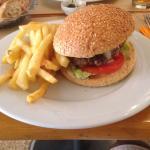 Ze best burger i ever had in marrakesh hands down