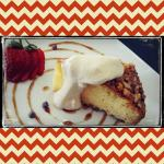 Souther Comfort & nut cake