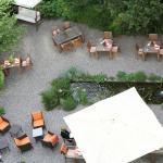 Blick in den Hotelgarten