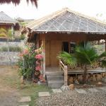 Mid left hut
