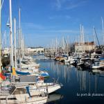 Le port de plaisance de Deauville