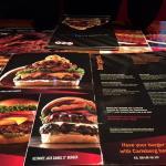 carte page burgers