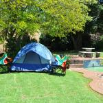 Swimming pool and camping area