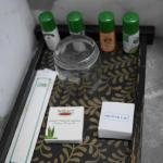 Local organic brand toiletries