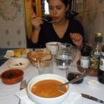 Comidinha com gosto de casa