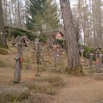 scorcio di sezione destra del cimitero