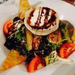 A goats cheese salad to die for!!!