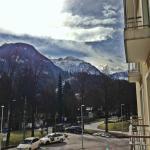 Blick aus dem Hotelzimmer!