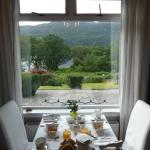 A view from our breakfast table