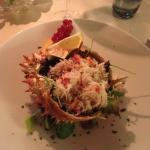 Insalata di Granseola e carciofi crudi