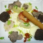 Plat du Chef: Saint Jacques au truffes