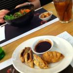 Our first experience of Wagamama food