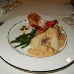 Mushroom and lobster crêpes were so delishious!