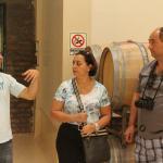 Visita ao interior da vinícola