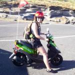 day-long moped rental!